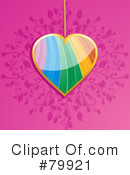 Royalty-Free (RF) Heart Clipart Illustration #79921