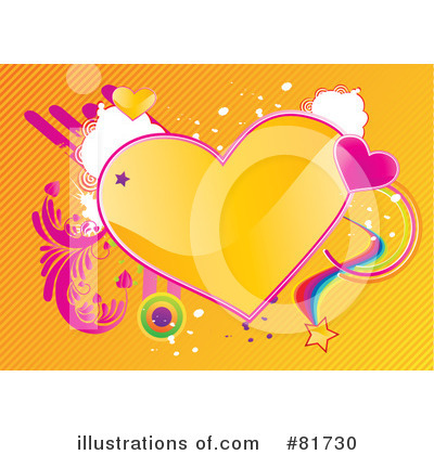 Hearts Clipart #81730 by MilsiArt