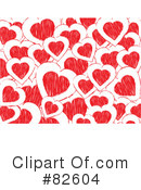 Royalty-Free (RF) Heart Clipart Illustration #82604