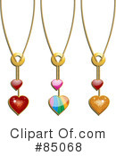 Royalty-Free (RF) heart Clipart Illustration #85068