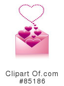 Royalty-Free (RF) Heart Clipart Illustration #85186