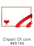 Royalty-Free (RF) Heart Clipart Illustration #85189