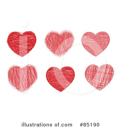 Hearts Clipart #85190 by MilsiArt