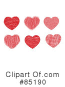 Royalty-Free (RF) Heart Clipart Illustration #85190