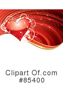 Royalty-Free (RF) Heart Clipart Illustration #85400