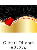 Royalty-Free (RF) Heart Clipart Illustration #85692