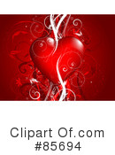 Royalty-Free (RF) heart Clipart Illustration #85694