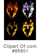 Royalty-Free (RF) heart Clipart Illustration #85801