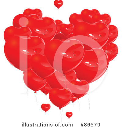 Party Balloons Clipart #86579 by Pushkin