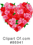 Royalty-Free (RF) Heart Clipart Illustration #86941