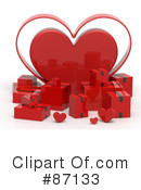 Royalty-Free (RF) Heart Clipart Illustration #87133