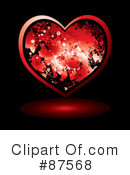 Royalty-Free (RF) heart Clipart Illustration #87568