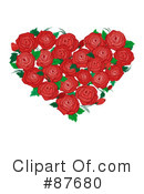 Royalty-Free (RF) heart Clipart Illustration #87680