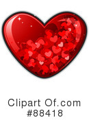 Royalty-Free (RF) heart Clipart Illustration #88418
