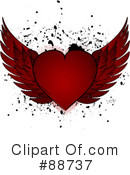 Royalty-Free (RF) heart Clipart Illustration #88737