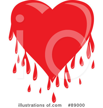 Royalty-Free (RF) Heart Clipart Illustration by Prawny - Stock Sample #89000