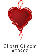 Royalty-Free (RF) Heart Clipart Illustration #93202