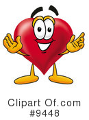 Royalty-Free (RF) heart Clipart Illustration #9448