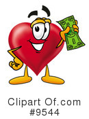 Heart Clipart #9544 by Toons4Biz