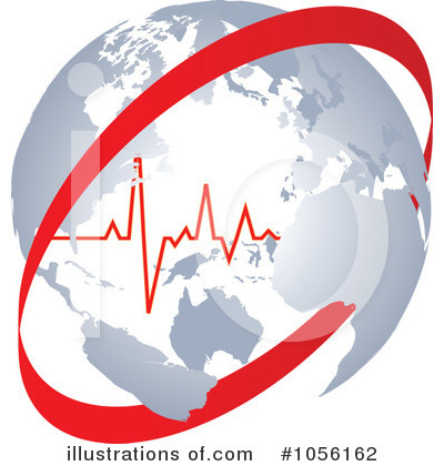 Royalty-Free (RF) Heartbeat Clipart Illustration by Andrei Marincas - Stock Sample #1056162
