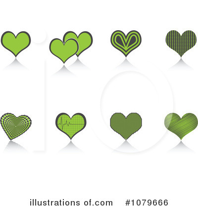 Heartbeat Clipart #1079666 by Andrei Marincas