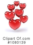 Royalty-Free (RF) hearts Clipart Illustration #1080139