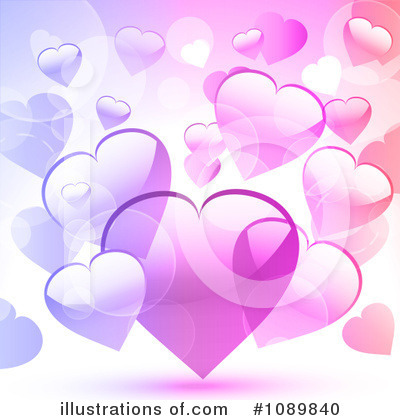 Hearts Clipart #1089840 by elaineitalia
