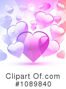 Royalty-Free (RF) Hearts Clipart Illustration #1089840