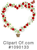 Royalty-Free (RF) hearts Clipart Illustration #1090133