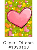 Hearts Clipart #1090138 by BNP Design Studio