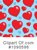 Hearts Clipart #1090596 by visekart