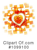 Royalty-Free (RF) Hearts Clipart Illustration #1099100