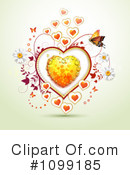 Hearts Clipart #1099185 by merlinul