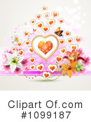 Hearts Clipart #1099187 by merlinul
