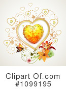 Royalty-Free (RF) Hearts Clipart Illustration #1099195