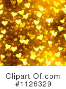 Royalty-Free (RF) Hearts Clipart Illustration #1126329