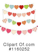 Royalty-Free (RF) Hearts Clipart Illustration #1160252