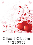 Hearts Clipart #1286958 by Pushkin
