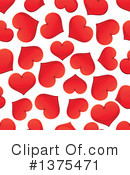 Hearts Clipart #1375471 by Vector Tradition SM