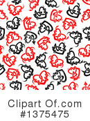 Hearts Clipart #1375475 by Vector Tradition SM