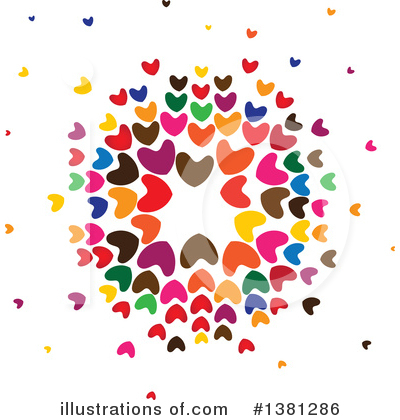 Heart Clipart #1381286 by ColorMagic
