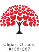 Hearts Clipart #1381287 by ColorMagic