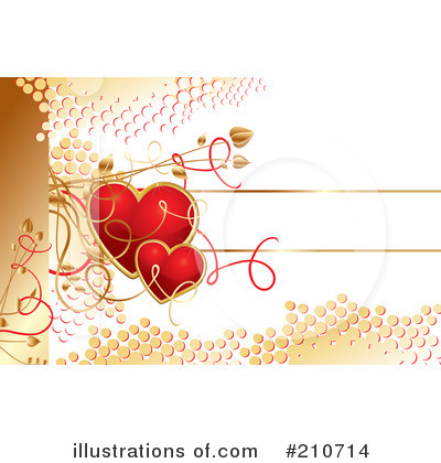 Royalty-Free (RF) Hearts Clipart Illustration by MilsiArt - Stock Sample #210714