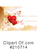 Royalty-Free (RF) hearts Clipart Illustration #210714