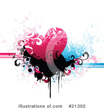 Royalty-Free (RF) Hearts Clipart Illustration by OnFocusMedia - Stock Sample #21302