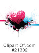 Royalty-Free (RF) hearts Clipart Illustration #21302