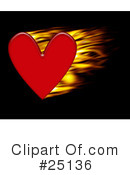 Hearts Clipart #25136 by KJ Pargeter