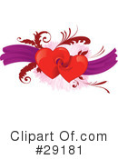 Royalty-Free (RF) hearts Clipart Illustration #29181