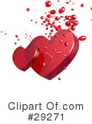 Royalty-Free (RF) Hearts Clipart Illustration #29271