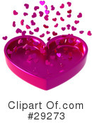 Royalty-Free (RF) Hearts Clipart Illustration #29273